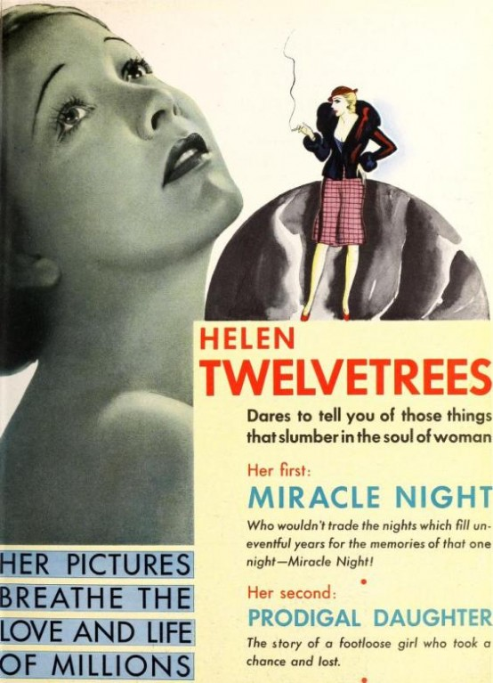 Helen Twelvetrees RKO ad Motion Picture Daily March 21 1932