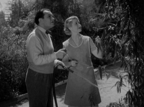 Edward G Robinson and Genevieve Tobin
