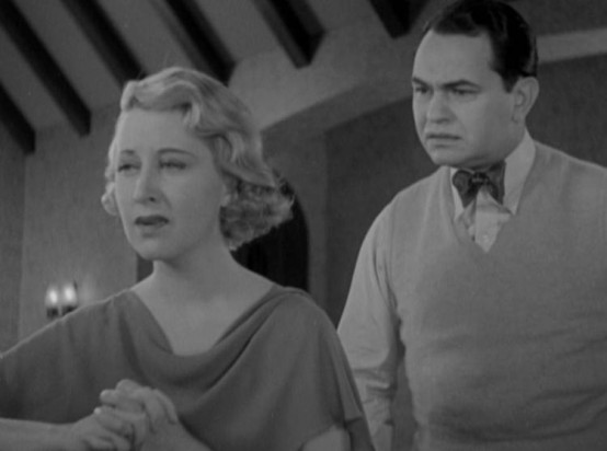 Genevieve Tobin and Edward G Robinson