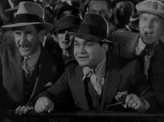 Edward G Robinson in Dark Hazard