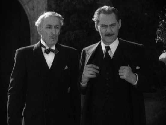 Tully Marshall with Lionel Barrymore