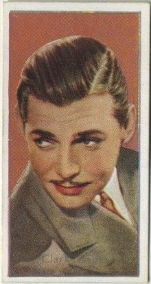 Clark Gable 1936 Carreras Film Stars