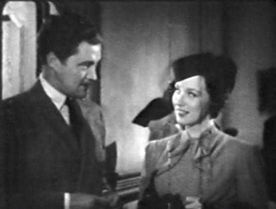 Dennis Morgan and Patricia Morison