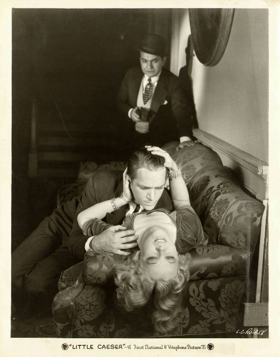 Edward G Robinson Douglas Fairbanks Jr and Glenda Farrell