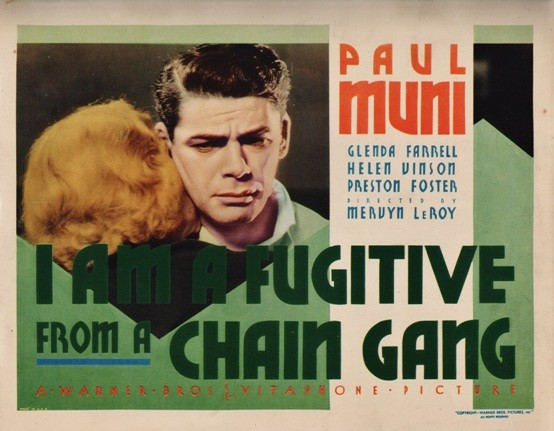 I Am a Fugitive from a Chain Gang lobby card
