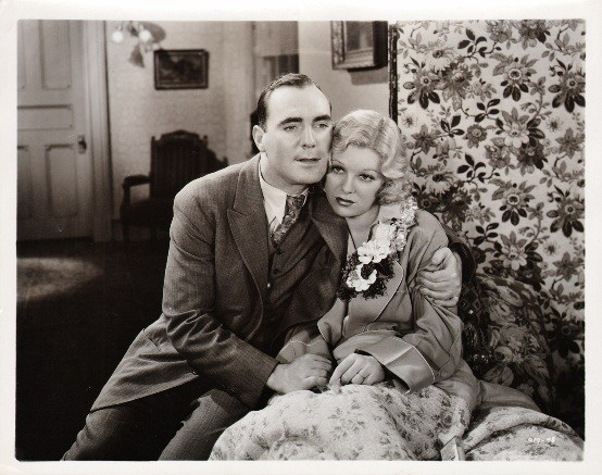 Pat OBrien and Glenda Farrell