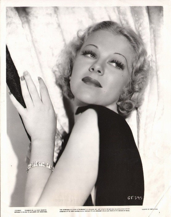 Glenda Farrell Were in the Money portrait