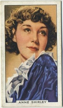 Anne Shirley 1936 Gallaher Portraits of Famous Stars