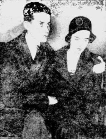 Eddie Allen and Rose Allen
