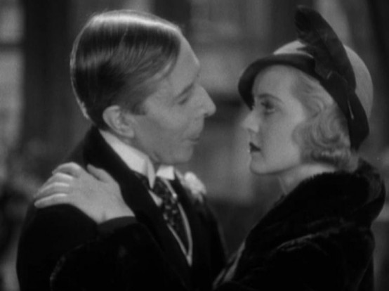 George Arliss and Bette Davis