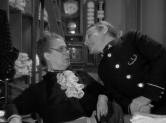 Maude Eburne and James Cagney