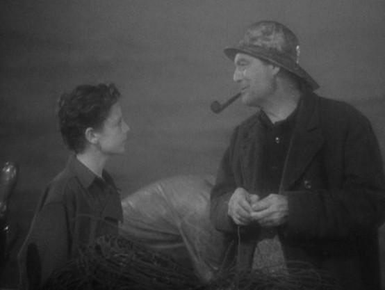 Freddie Bartholomew and Lionel Barrymore
