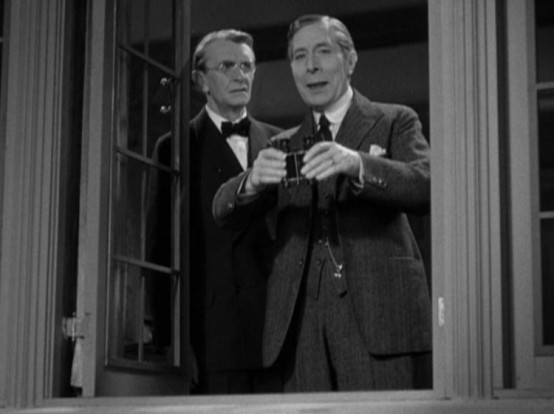 Ivan Simpson and George Arliss