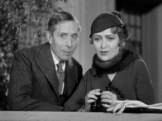 George Arliss and Violet Heming