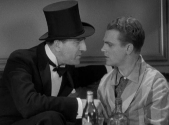 Louis Calhern and James Cagney