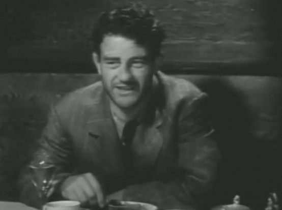 John Wayne in Lady and Gent