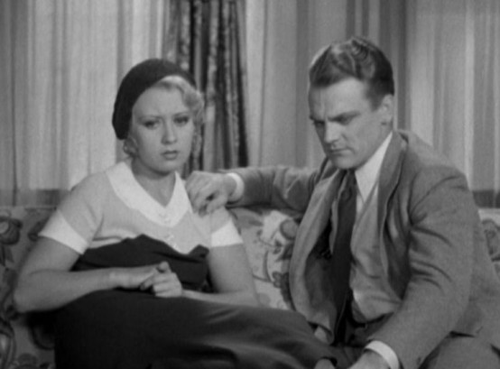 Joan Blondell and James Cagney