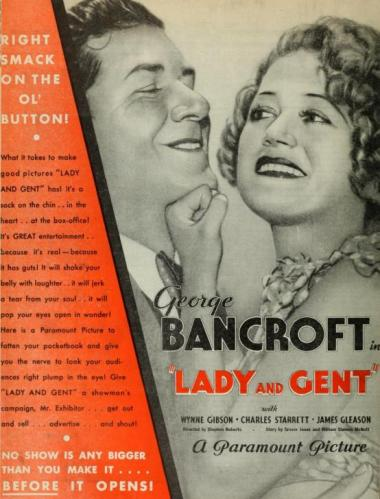 Lady and Gent 1932 trade ad