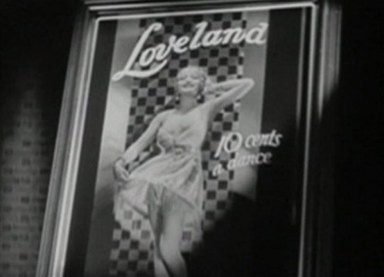 Loveland in Child of Manhattan 1933