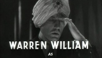 Warren William in The Mind Reader 1933