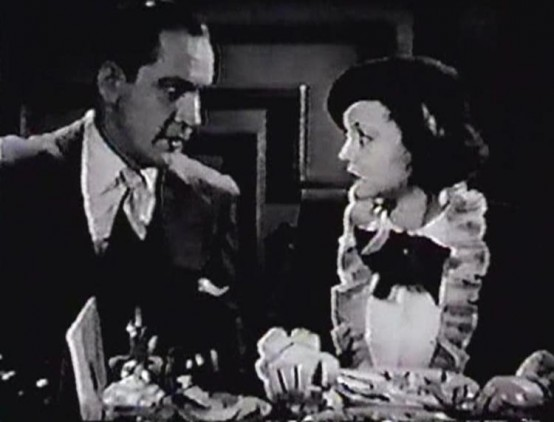 Fredric March and Sylvia Sidney