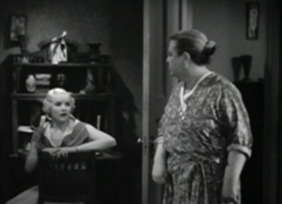 Betty Grable and Jane Darwell
