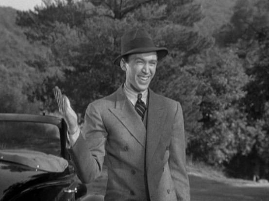 James Stewart in The Murder Man