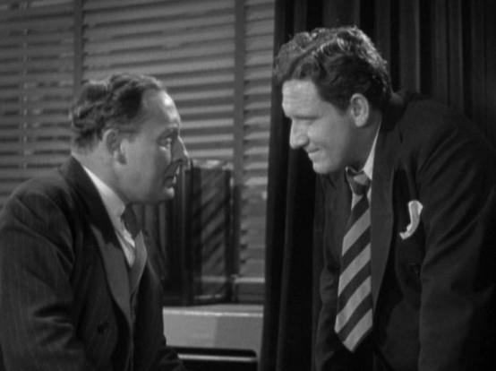 Lionel Atwill and Spencer Tracy