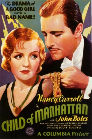 Child of Manhattan 1933
