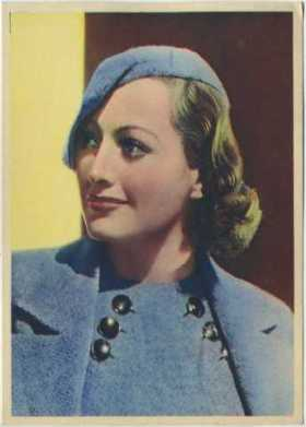 Joan Crawford 1936 Nestle Stars of the Silver Screen