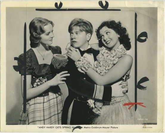 Helen Gilbert Mickey Rooney Ann Rutherford