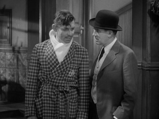 Clark Gable and Ted Healy