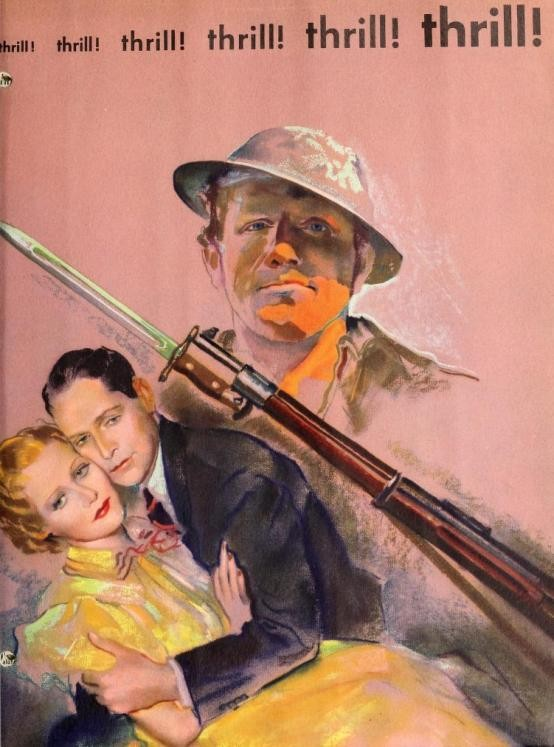 They Gave Him a Gun 1937 trade ad