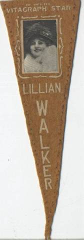 Lillian Walker 1915 Movie Star Pennant