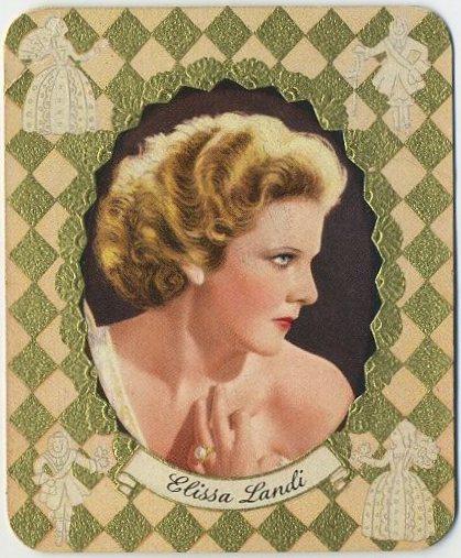 Elissa Landi 1930s Garbaty Modern Schonheitsgalerie