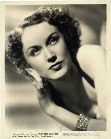 Fay Wray in They Met in a Taxi 1936