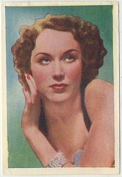 Fay Wray 1937 Nestle Stars of the Silver Screen