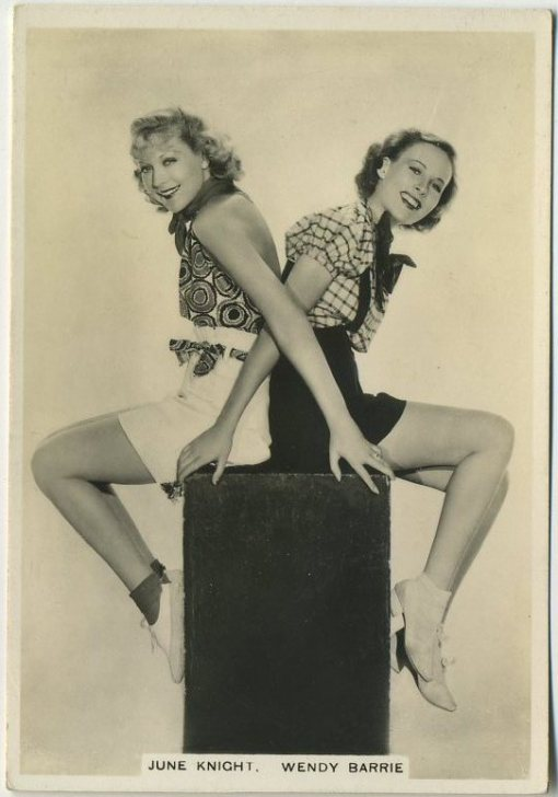 June Knight and Wendy Barrie Modern Beauties