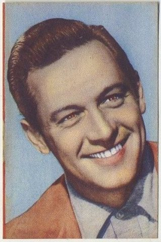 William Holden 1951 Artisti del Cinema trading card