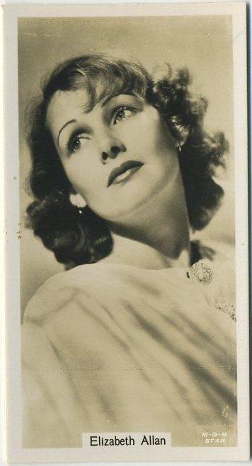 Elizabeth Allan 1934 John Sinclair