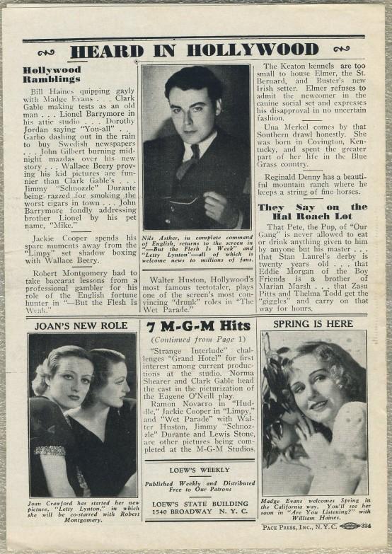 Loews Weekly April 2 1932