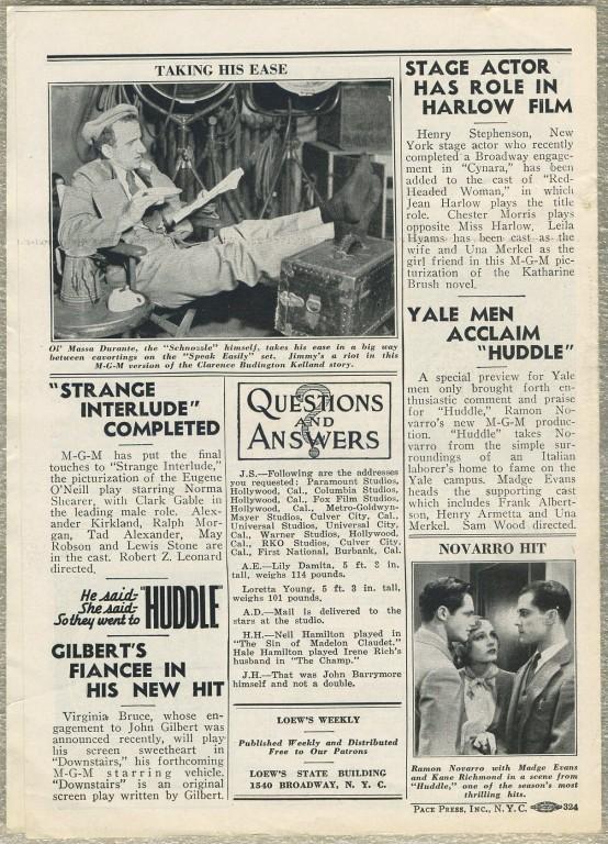 Loews Weekly June 11 1932