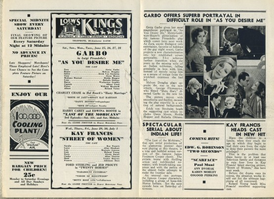 Loews Weekly June 18 1932 pages 2 3
