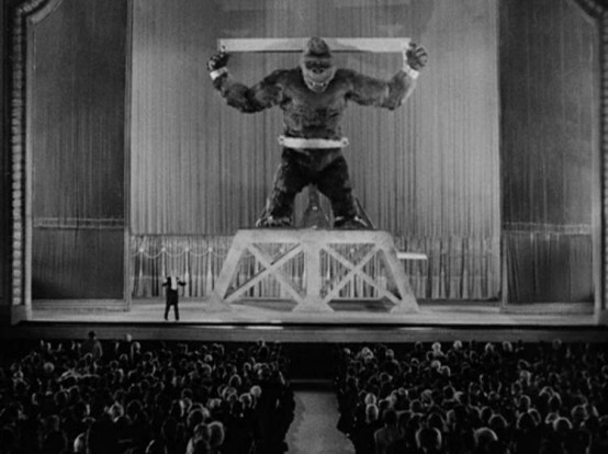 King Kong captive