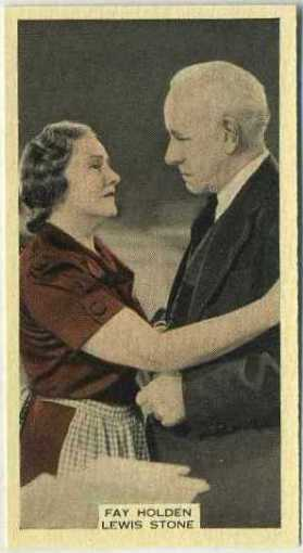 Fay Holden and Lewis Stone 1939 A and M Wix Film Favourites