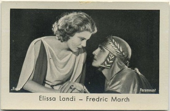 Elissa Landi and Fredric March Josetti German Tobacco Card