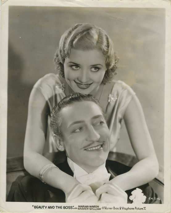 Marian Marsh and Warren William in Beauty and the Boss
