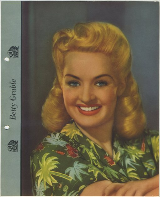 Betty Grable Dixie Premium Photo