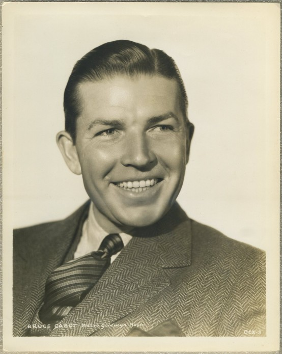 Bruce Cabot MGM Promotional Still