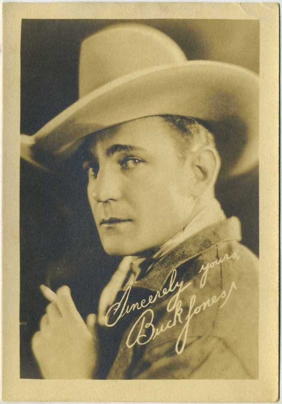 Buck Jones 1920s Fan Photo